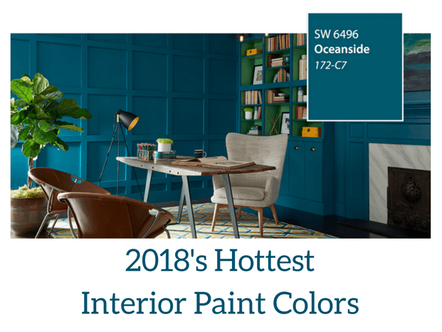 2018 Hottest Interior Paint Colors