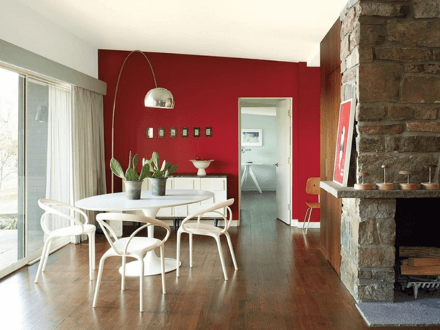 Deep Red Paint Color