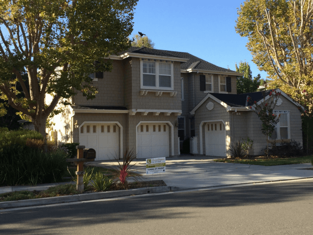 Bay area exterior residential home painting examples for Exterior paint examples