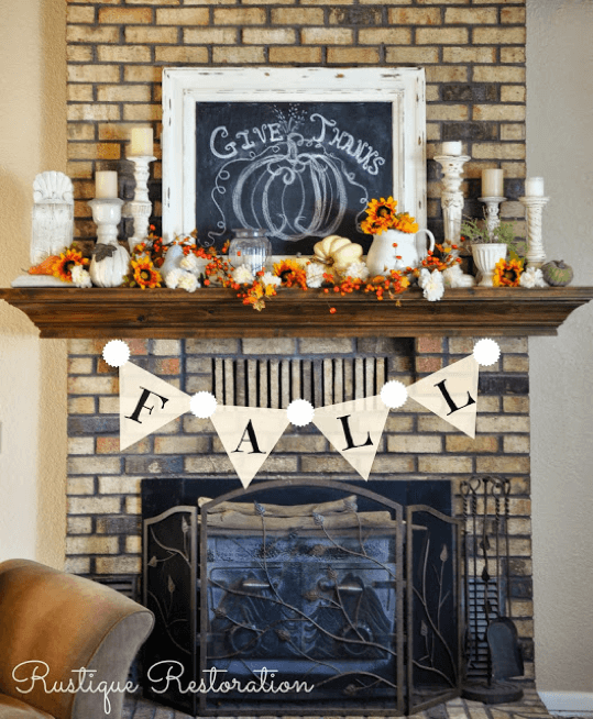 fireplace-mantle-fall