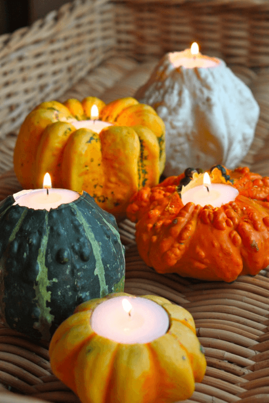 gourds-as-candles