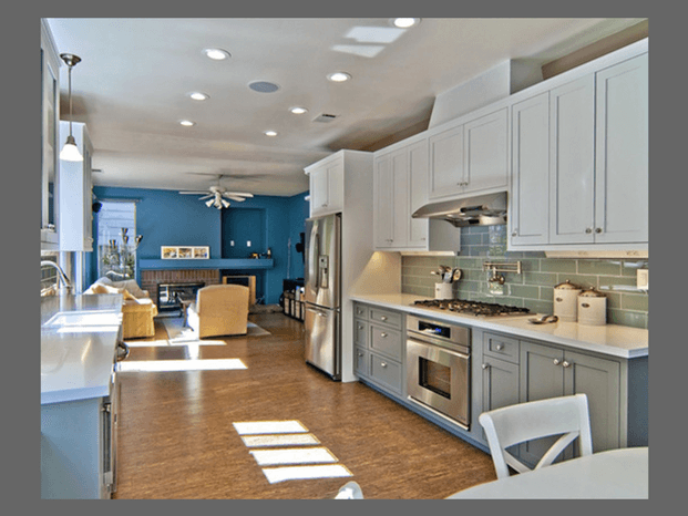 Choosing the best paint color for your kitchen moondance for Choosing kitchen colors