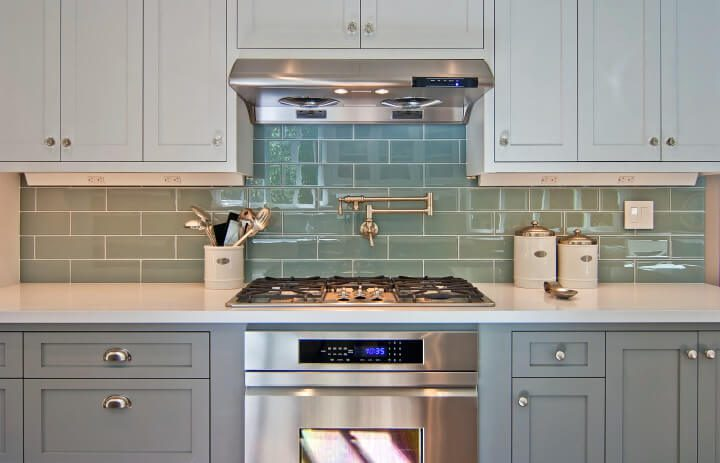 Bay area kitchen cabinets painting examples for Kitchen cabinets quality levels